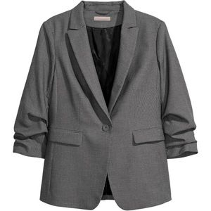 H&M Patterned Blazer (PLUS SIZE)